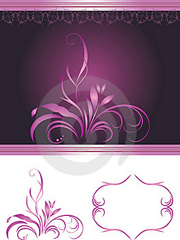 Elements For Decor Stock Image - Image: 20580211