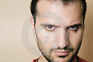 Scary Face Royalty Free Stock Photo - Image: 20581885