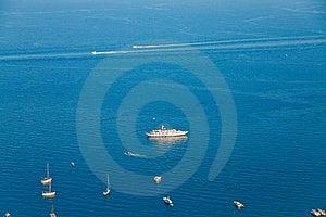 Sikt För Ionian Hav Arkivfoto - Bild: 20584070