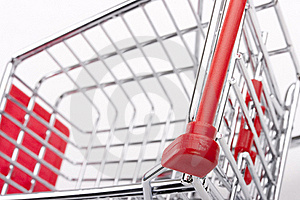 Empty Shopping Cart Royalty Free Stock Photo - Image: 20585125