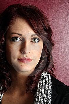 Beautiful Young Woman Portrait Stock Image - Image: 20586021