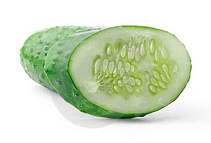 Cucumber And Slice Stock Images - Image: 20587244