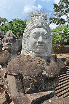 Khmer Statue Stock Photography - Image: 20587672