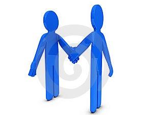 Handshake Royalty Free Stock Photography - Image: 20587787