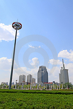 Beatiful City Scenery Stock Photo - Image: 20588870