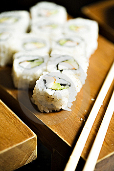 Japanesse Inspired Food Stock Photo - Image: 20592190