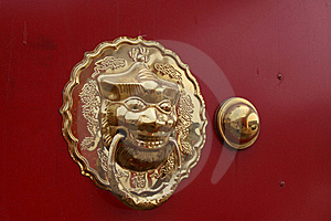 Metal Knocker Stock Photos - Image: 20592753