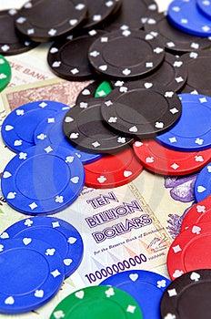 Winning Chips For Ten Billion Dollars Stock Photo - Image: 20593300