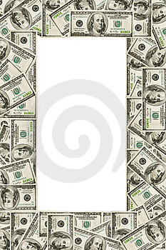Dollar's Frame Royalty Free Stock Photo - Image: 20593465