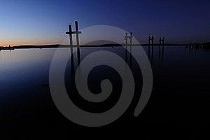 Stillness After Dark Royalty Free Stock Photography - Image: 20594087