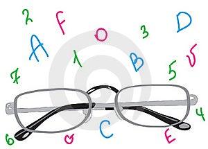 Beautiful Stylish Points For Sight Improvement. Stock Image - Image: 20595171