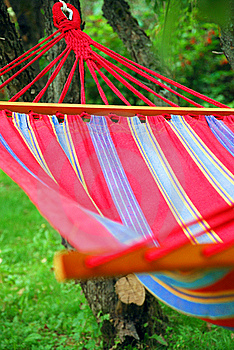 A Hammock In The Garden Royalty Free Stock Image - Image: 20595606