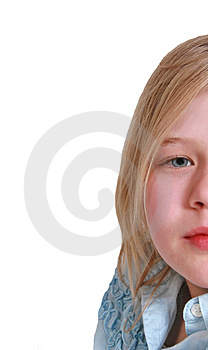 Copy Space Girl Stock Images - Image: 2067504