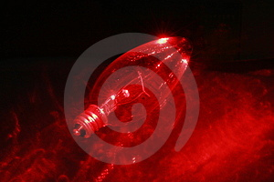 Red Light Blub 3 Stock Photo - Image: 2067730