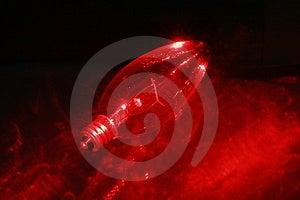 Blub 3 красного света Стоковое Фото - изображение: 2067730