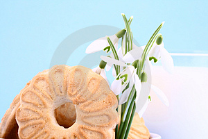 Cookie Nad Milk Royalty Free Stock Image - Image: 2068786