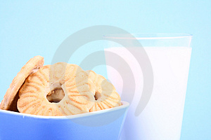 Cookie Nad Milk Stock Photos - Image: 2068803