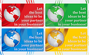 Visiting Card - Best Ideas Stock Photo - Image: 20604460