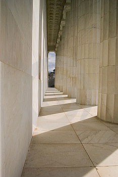 Behind The Lincoln Memorial Stock Photo - Image: 20605830