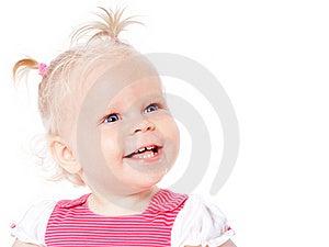 Funny Little Girl Stock Photo - Image: 20605890