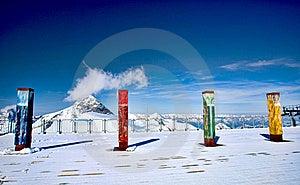Slopes Of Hintertux 2, Austria. Royalty Free Stock Photography - Image: 20607427