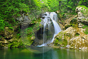 Beautiful Waterfall Stock Photos - Image: 20608353