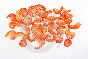 Dried Salt Prawn Stock Photo - Image: 20609190
