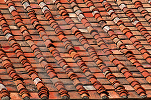 Terracotta Roof Tiles Royalty Free Stock Photos - Image: 20611528