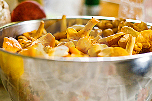 Freshly Gathered Cantarella Royalty Free Stock Image - Image: 20612246