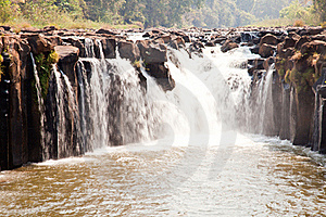 Tad Pha Suam Waterfall Royalty Free Stock Images - Image: 20614289