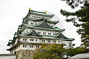 The Japanese Fort Of Nagoya Castle Royalty Free Stock Photo - Image: 20614545