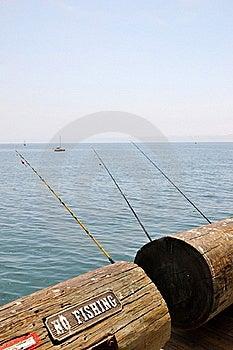 Santa Barbara Pier Stock Image - Image: 20614891