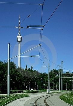 TV Tower Royalty Free Stock Image - Image: 20615406