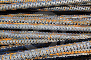Twisted steel construction materials