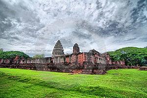 Ancient Thai Castle (HDR) Stock Photo - Image: 20620830