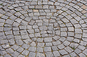 Cobbled Road Royalty Free Stock Images - Image: 20623639