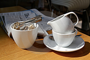 Business Breakfast Stock Photography - Image: 20624782