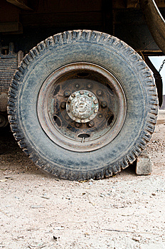 Old Wheel Truck 10 Wheel Royalty Free Stock Photo - Image: 20625555