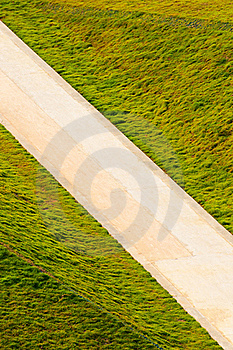 Road  In  Grasses Royalty Free Stock Image - Image: 20625986