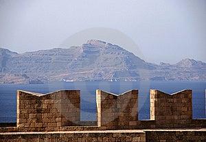 Battlements On Acropolis Stock Photos - Image: 20626073