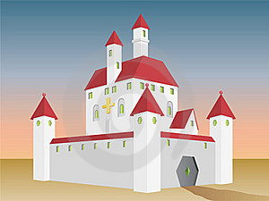 Fairy Tale Castle Royalty Free Stock Image - Image: 20626106