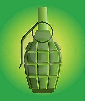 Hand Grenade Stock Image - Image: 20626111