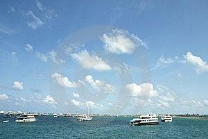Horizon Of Indian Ocean In Maldives Stock Image - Image: 20626531