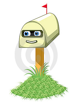 Mailbox Illustration Stock Photography - Image: 20627102