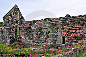 St Augustine Nunnery, Chapal Ruins, Royalty Free Stock Photo - Image: 20628165