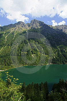 Lake In Mountains Royalty Free Stock Photo - Image: 20629315