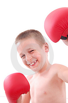 Little Boy Boxer Royalty Free Stock Photography - Image: 20630827