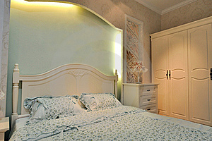 Lighting Color Bedding Room Stock Images - Image: 20632594