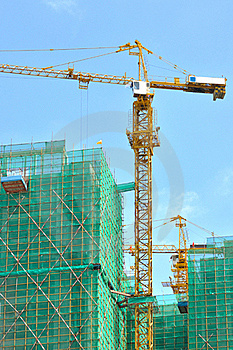 City Buildings In Construction Royalty Free Stock Photography - Image: 20632657