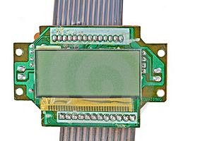 The Printed-circuit Board, Electronic Components Royalty Free Stock Images - Image: 20633039